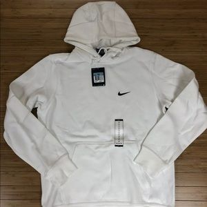 Nike Mens Sweatshirt Hooded Club Swoosh Size M